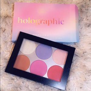 SEPHORA Holographic Face & Cheek Palette